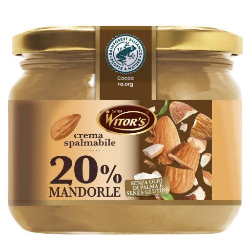 WITORS - La Mandorle 20% Mandulakrém 220g