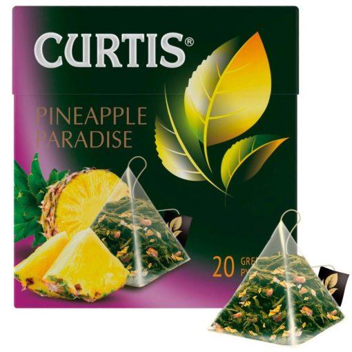 Curtis Pineapple Paradise prémium zöld szálas tea 20 filter 34g  858241