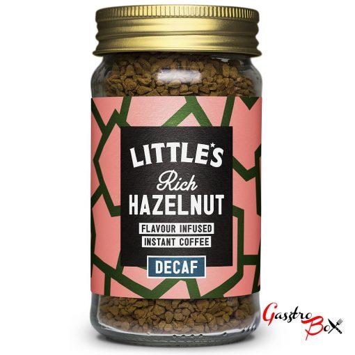 Little's Koffeinmentes Mogyoró ízesítésű Prémium Instant Kávé 50 g