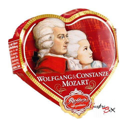 REBER Wolfgang és Constanze Mozart Szív alakú Pasztéta 31 g