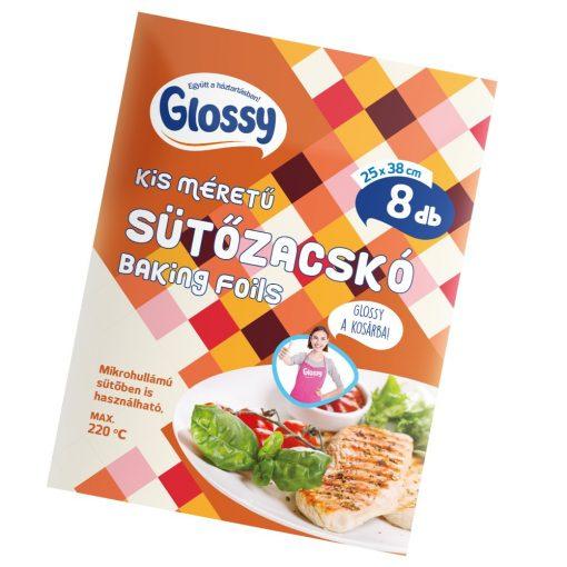 Glossy Kis méretű sütőzacskó, Csirkés, 8 db 25x38 cm 5860058