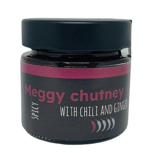 Chilis-gyömbéres meggychutney 125 ml
