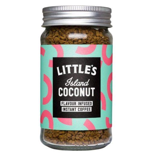 Little's Kókusz ízesítésű Prémium Instant kávé 50 g