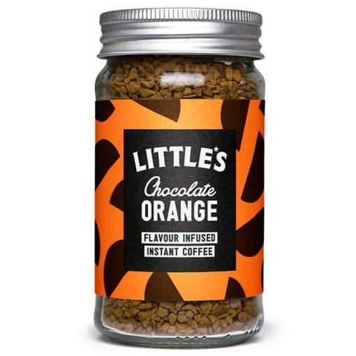 Little's Narancsos Csokoládés ízesítésű Prémium Instant kávé 50 g