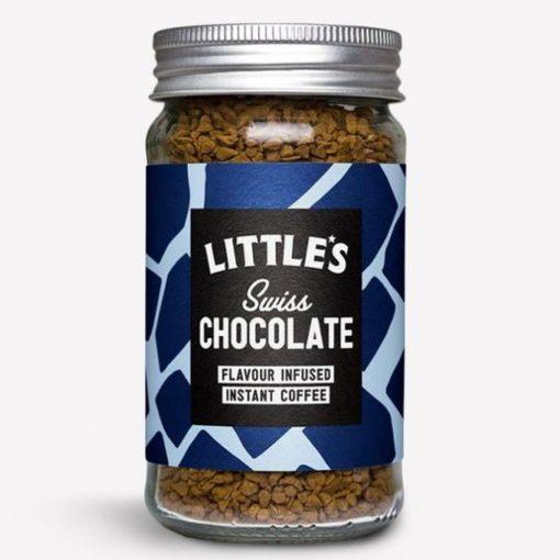 Little's Svájci Csokoládé ízű Prémium Instant Kávé 50 g