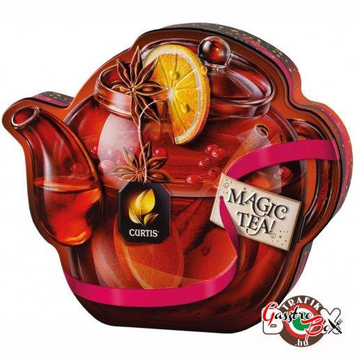 """Curtis """"Drink Me!"""", Téli Fekete szálas Tea, Gyümölcs darabokkal, Fémdobozban 70 g"""